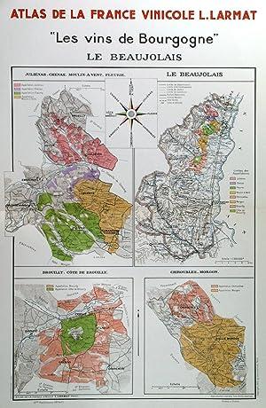 LES VINS DE BOURGOGNE - LE BEAUJOLAIS'.: Larmat, L.