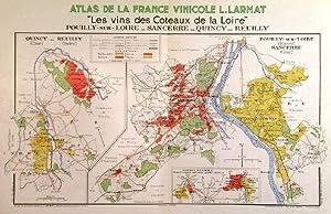 LES VINS DES COTEAUX DE LA LOIRE',: Larmat, L.