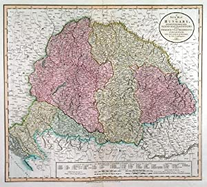 ?A NEW MAP OF HUNGARY, WITH DIVISIONS INTO GESPANCHAFTS OR COUNTIES; THE PRINCIPALITY OF TRANSYLV...