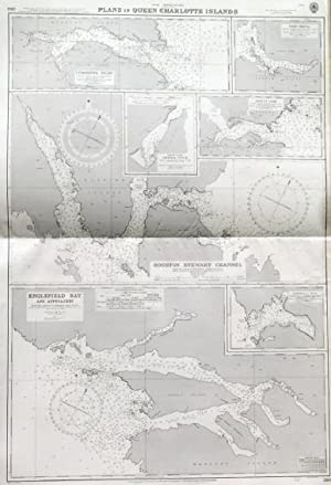 ENGLEFIELD BAY AND APPROACHES ,  HOUSTON STEWART CHANNEL ,  CUMSHEWA INLET , and four other sea ...