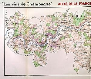 LES VINS DE CHAMPAGNE - VALLÉE DE: Larmat, L.