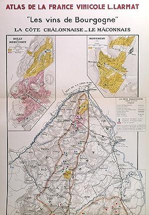 LES VINS DE BOURGOGNE - LA COTE: Larmat, L.