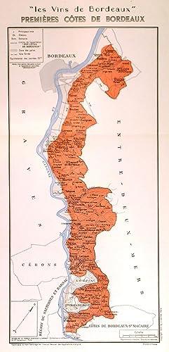 LES VINS DE BORDEAUX - PREMIERES COTES: Larmat, L.
