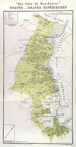 LES VINS DE BORDEAUX - GRAVES -: Larmat, L.