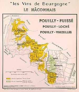LES VINS DE BOURGOGNE - LE MACONNAIS'.: Larmat, L.