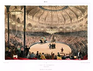 CIRQUE DE L'IMPÉRATRICE'. Circus performance of a: Provost, A.