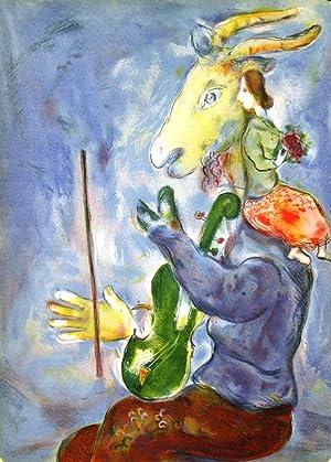 LE PRINTEMPS / SPRING . Original colour lithograph: Chagall, M.