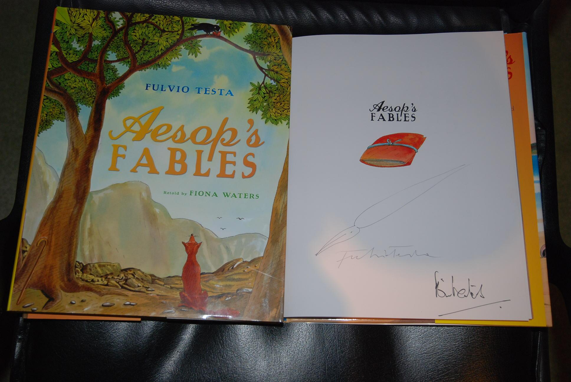 What is the authors name for fables