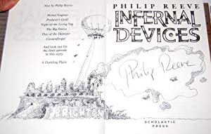 Infernal Devices - Signed and remarqued with a beautiful Illustration by the author