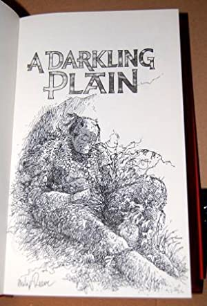 A Darkling Plain - Signed and remarqued with a beautiful illustration by the author