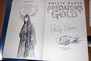 Predator's Gold - Signed and remarqued with a beautiful illustration by the author