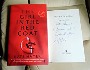 The Girl in the Red Coat -: Hamer, Kate