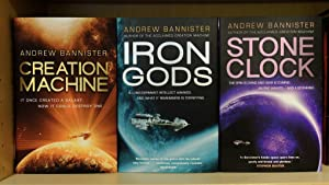 Creation Machine : Iron Gods : Stone Clock (The Spin Trilogy) - Signed, Lined, Dated, Numbered wi...