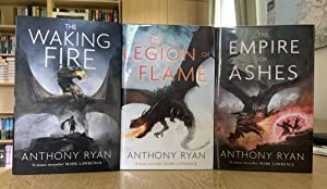 Collectible Trilogy - The Waking Fire - The Legion of Flame - The Empire of Ashes (Draconis Memor...