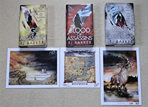 Age of Assassins / Blood of Assassins / King of Assassins - Exclusive 300 Print Limited Edition H...
