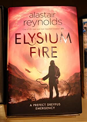 Elysium Fire (Inspector Dreyfus 2) - Signed, dated and Numbered Limited Edition