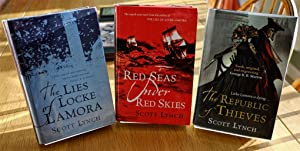 The Lies of Locke Lamora: Red Seas Under Red Skies: The Republic of Thieves- Signed 1st editions ...