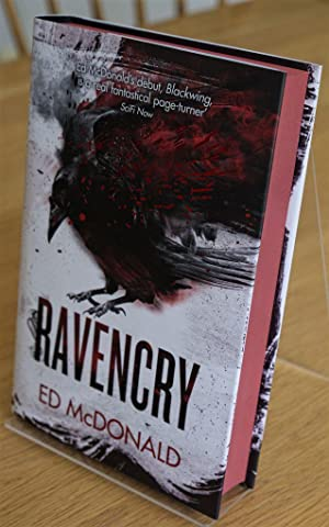 Ravencry: The Raven's Mark Book Two -Signed and Numbered Ltd Edition with Red sprayed page edges