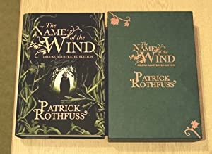 Name of The Wind Illustrated Limited signed and numbered slip cased UK HB