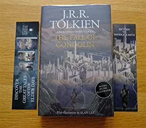 The Fall of Gondolin - Signed 1st: J. R. R.