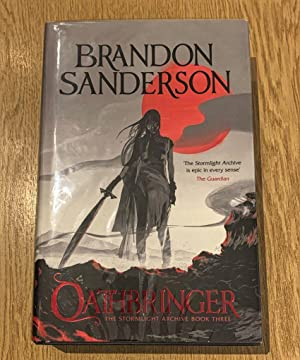 Oathbringer: The Stormlight Archive Book Three - Signed UK HB Fine