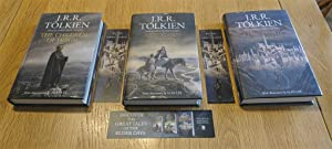 Children of Hurin - Beren and Luthien - The Fall of Gondolin all 1st printings signed by Alan Lee...