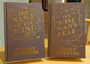 The Name of the Wind & The Wise Mans Fear 10th Anniversary Hardback Editions (Kingkiller Chronicl...