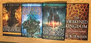 The Inheritance Trilogy set +: The Hundred Thousand Kingdoms: The Broken Kingdom: The Kingdom of ...