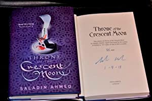 Throne of the Crescent Moon Ltd Signed Numbered. Pre-publication Dated