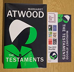The Testaments: WINNER OF THE BOOKER PRIZE 2019 Signed 1st Print with Matching Bookmark