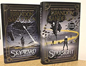 Skyward Signed and Numbered Ltd Ed. and Starsight Signed Waterstones Ed.
