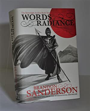 Words of Radiance: The Stormlight Archive Book Two Signed to the title page UK HB Fine Collectors...
