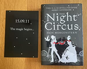 The Night Circus (Vintage Magic)- Rare in fine condition - Signed Lined Dated 12/10/2011 Black Pa...