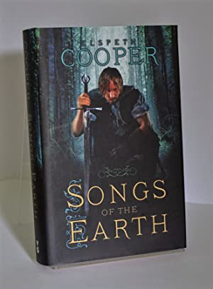 Songs of the Earth Signed Lined and Dated + Bookmark