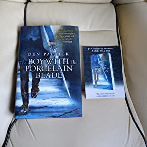 The Boy with the Porcelain Blade - Signed Numbered (100) pre-publication dated UK HB + Matching P...