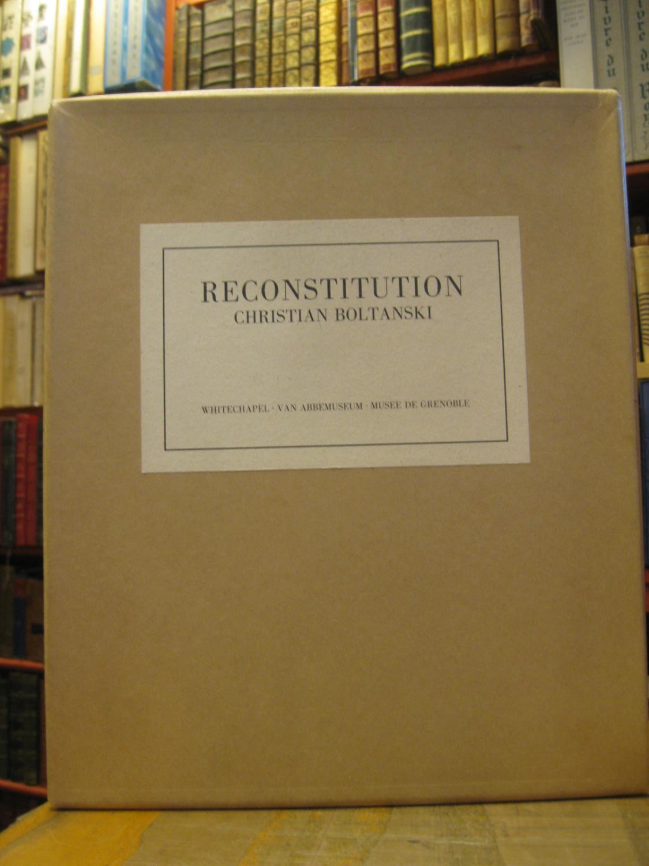 RECONSTITUTION CHRISTIAN BOLTANSKI