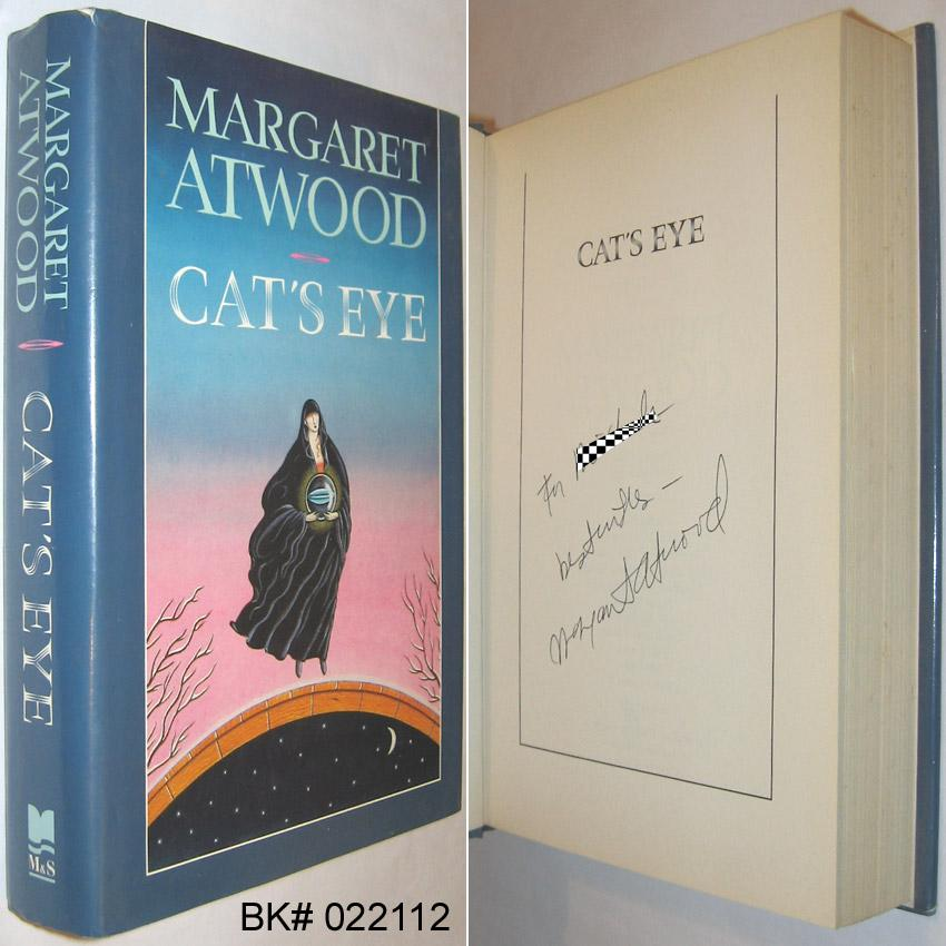 Cats Eye Signed By Atwood Margaret Mcclelland And Stewart