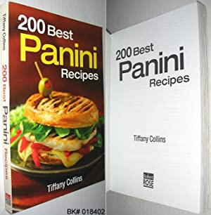 200 Best Panini Recipes Collins Tiffany