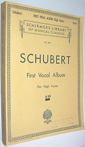 Franz Schubert Songs with Piano Accompaniment : Schubert, Franz; Baker,
