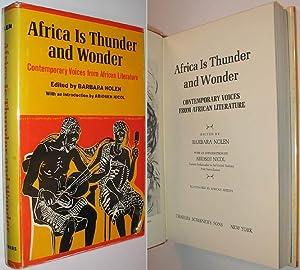 Africa is Thunder and Wonder : Contemporary: Nolen, Barbara (edits);