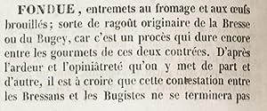 Néo-physiologie du goût par ordre alphabétique, ou: COUSIN (Maurice, comte