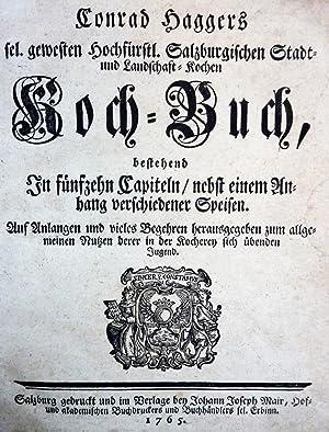 Koch-Buch: HAGGER (Conrad)
