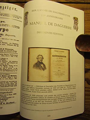 1839. Le Daguerréotype. Avènement de la Photographie ; divulgation, documents d'...