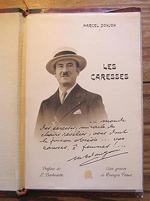 Les Caresses. Préface de L. Barbedette. Bois: Donjon ( Marcel-