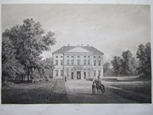 Lithographie ). Château de Froschdorf, Basse Autriche.: Anastasi ( Auguste-