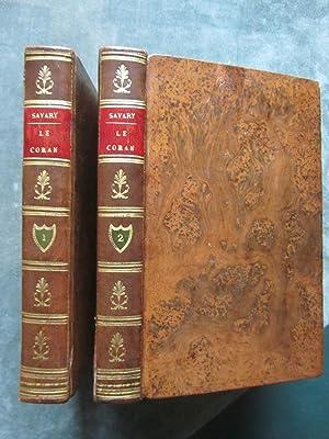 Le Coran, traduit de l' arabe, accompagné