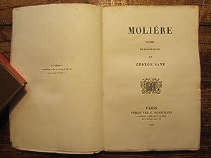 Molière. Drame en quatre actes.: Sand ( George-