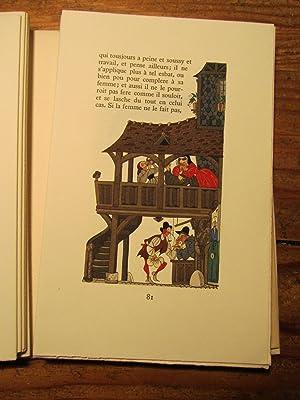 Les Quinze Joyes de Mariage. Images de Henry Lemarié.: Lemarié ( Henry Lemarié- ). ].