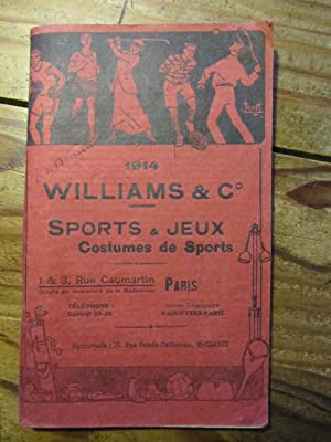 Sports et Jeux. Costumes de Sports. 1914.
