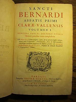 Sancti Bernardi abbatis primi Clarae- Vallensis [: Bernard de Clairvaux